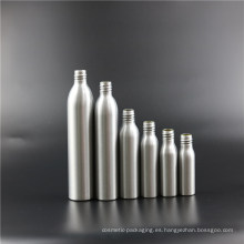Botella de aceite esencial cosmética de aluminio en stock