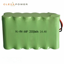 14.4v rechargeable nimh battery pack 2000mah