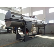 Vibrating fluidized bed dryer with low noise