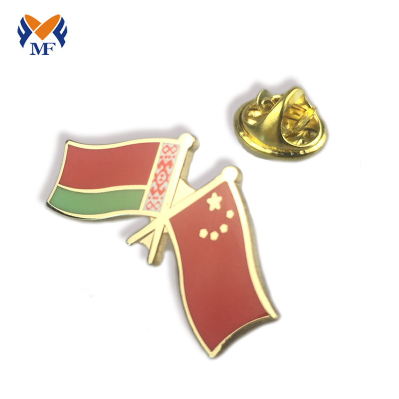 Country Flag Badge