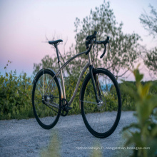 cadre de vélo de route titane prix