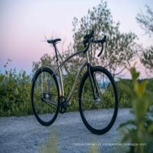 preço de armação de bicicleta de estrada de titânio