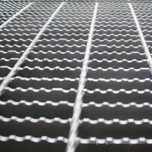Anti slip grating floor