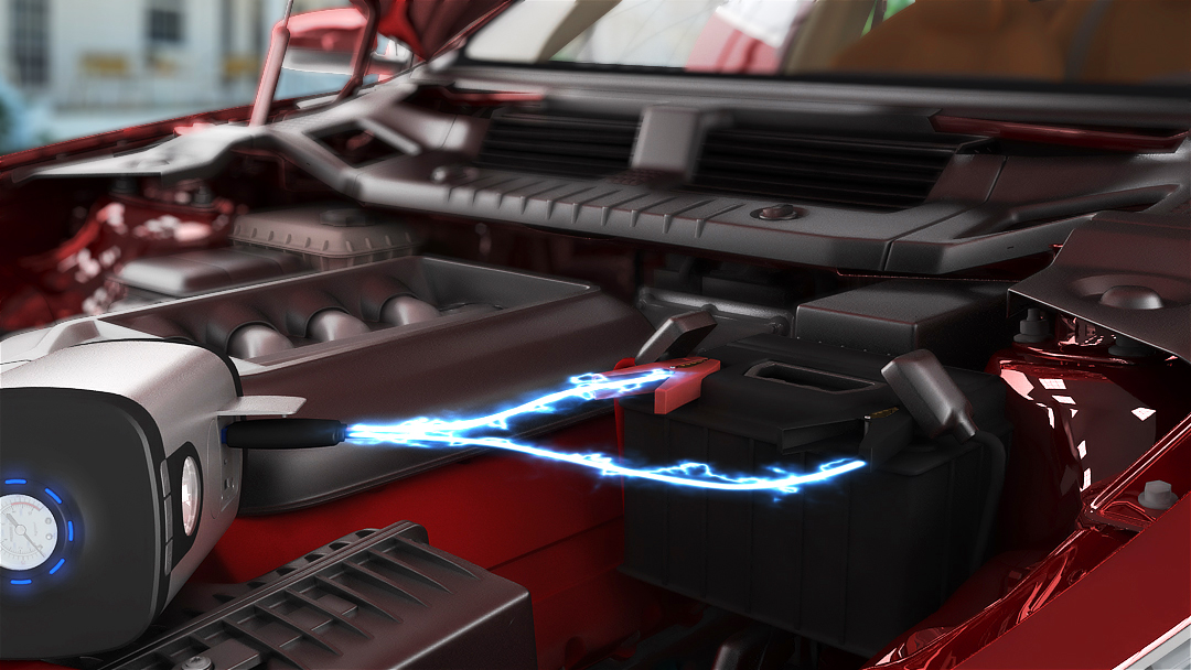 Vehicle instant power jump starter