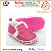Menor preço top service sapatos de bebê na sola macia do skidder granel