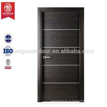 Porta de madeira MDF barata / PVC Preço da porta do banheiro