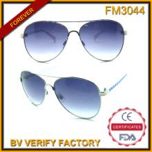 FM3044 Nuevo diseño Metal Estados Unidos bandera patrón hombre gafas de sol