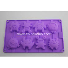 Purple Cake Jelly Mold Silicone Tray