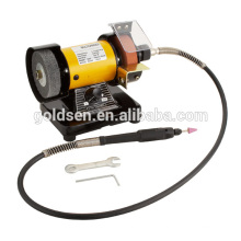 75mm 3in 150w Power Jewelry Mini Bench Grinder Machine Flexible Shaft Grinder Electric China Hobby Tools