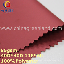 Twill Polyester Memory Fabric for Garment Textile (GLLML310)