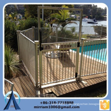 Hochwertige Sicherheitsbarrieren für Schwimmbäder, Kindersicherheits-Poolzaun, abnehmbarer Poolzaun