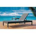 Wicker Aluminum Frame Outdoor Rattan Beach Lounge Leisure Chair