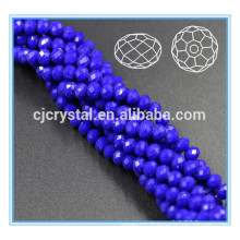 Accessoires en cristal perles en cristal rondelle perles facettes