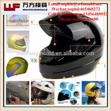 China motorcycle helmet injection mould/Plastic Injection Motorcycle safety helmet mouldings