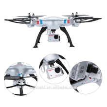 High Quality Syma X8G 2.4G 6 Axis Gyro 4CH RC Quadrocopter Headless mode Drone with 8MP Camera Silver
