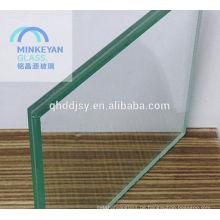 Verbundglas niedrigen preis 8mm 10mm 16mm 12mm hohe qualität gehärtetem laminiertem glas