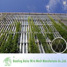 China hecho de acero inoxidable malla decorativa / malla de malla de cuerda hecha en China