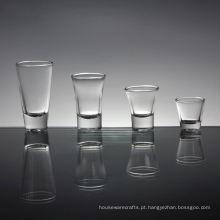 Lembranças de presente de casamento de cristal personalizado Mini vinho Shot Glass Cup
