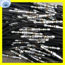 Tuyau en caoutchouc de tresse de textile de tuyau de tuyau de tuyau en caoutchouc automatique 3/16 pouces