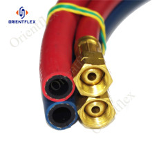 5/16 color oxygen acetylene gas cutting hose 300psi