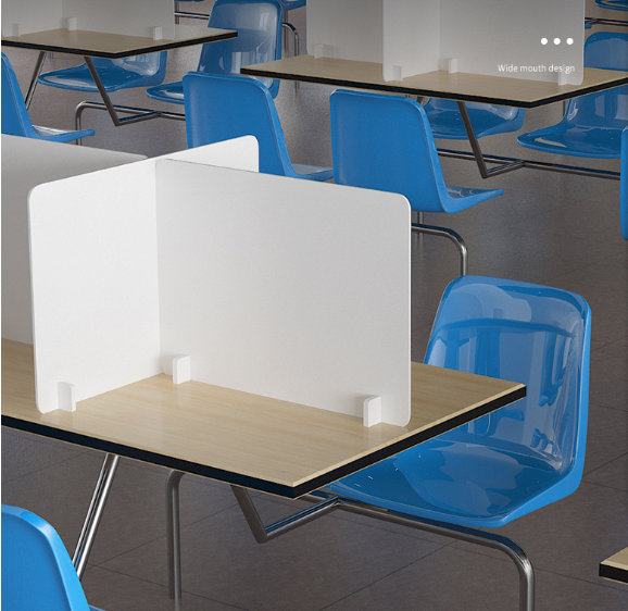 school desk protection isolating board