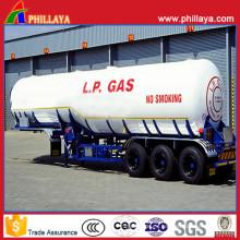 50000 litros 3 ejes LPG camión cisterna