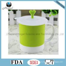 Праздничная силиконовая крышка для кофейной чашки, силиконовая резиновая крышка SL11