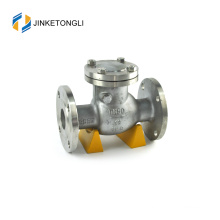 JKTLPC115 flanged soft close forged steel check valve assembly
