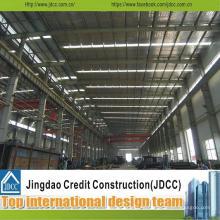 Almacén prefabricado / taller de la estructura de acero galvanizada