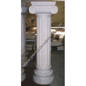Stone Marble Granite Sandstone Hollow Roman Column Pillars (QCM005)