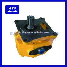pompe à engrenages rotatoire hydraulique de direction assistée d'huile de haut débit pour le bouteur 07430-72203