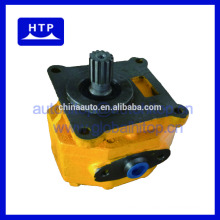 high flow oil hydraulic power steering rotary gear pump for Bulldozer 07430-72203