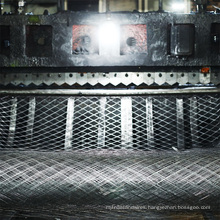 Chinese supplier Mild steel expanded mesh Galvanized Flat Plate Stretch expanded metal mesh