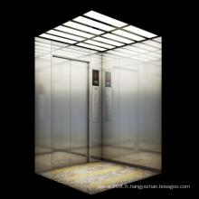 Ascenseur pour passagers en acier inoxydable Kjx-01