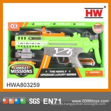 Novo 43CM plástico elétrico Kid Toy Gun pistola de imitação de plástico de brinquedo