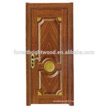 High Quality Popular HDF Melamine Molded Interior Door Design