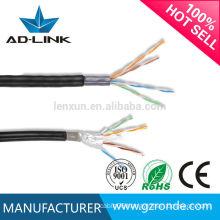 outdoor 100m stp cat5E cable/lan cable CU/CCS/CCA/CCA+CCS