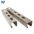 Stainless Steel Hot Rolled Galvanized steel channel sections