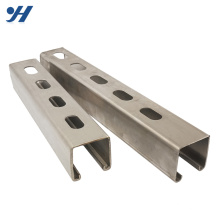Building Materials Mild Steel Strut 201 stainless steel c channel