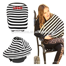 Stretchy 4-in-1 Carseat Canopy nursing / cart cover