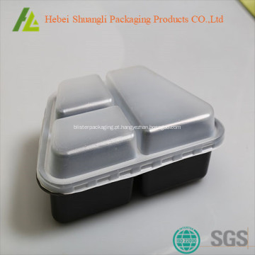 Recipientes de alimento Microwavable descartável à venda