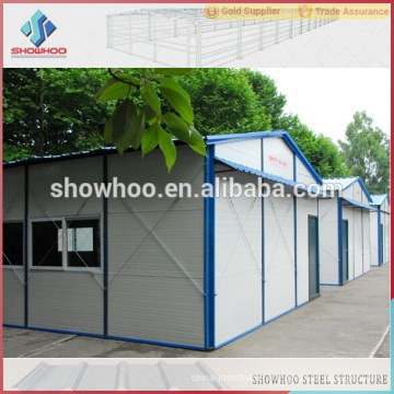 low cost steel eps prefabricated houses