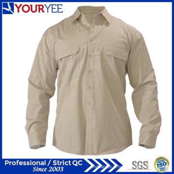 Chemise Unisexe à manches longues personnalisées à manches longues (YWS110)