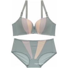 El nuevo diseño atractivo inconsútil de la delgada-taza lisa respirable empuja hacia arriba el sujetador de las mujeres con el sistema panty