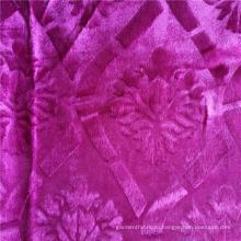 Модная бархатная африканская ткань для одежды из 100% полиэстера