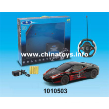 2016 Popular Plastic Toys 4-CH R/C Car (1010503)