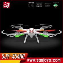 Syma X54HC con cámara de 2MP HD Rc Droen 2.4G 4CH 6Axis Altitude Hold LED RC Quadcopter RTF