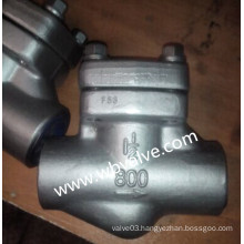 API Forged Stainless Steel NPT Thread Check Valve