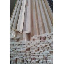 Bordure de mur de pin jointe de joint de doigt collée de bord (dalle) avec l'amorce blanche peinte
