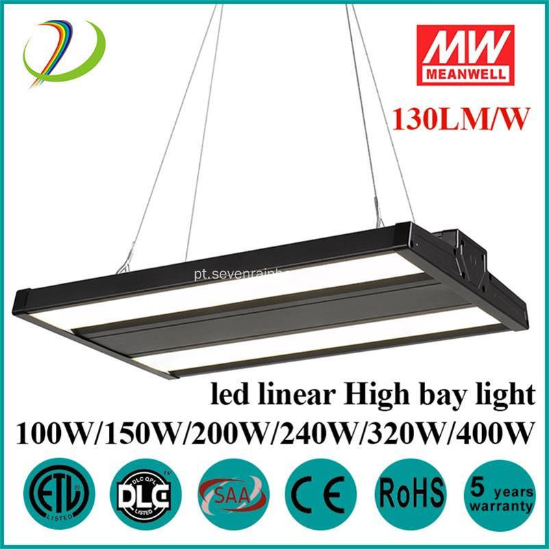 Dimmable LED Linear High Bay Light